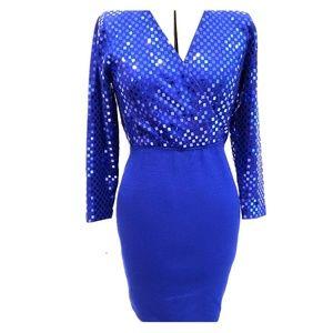 St. John by Marie Gray Blue Dress